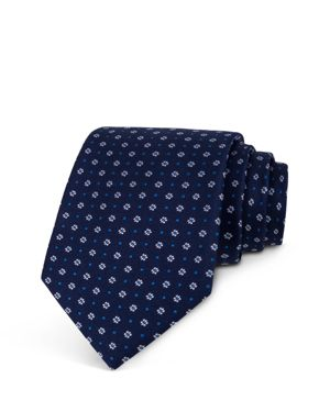 The Men's Store at Bloomingdale's Mini Daisy Neat Classic Tie - 100% Exclusive thumbnail