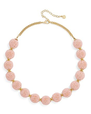BAUBLEBAR - Beaded Ball Necklace, 21.5""