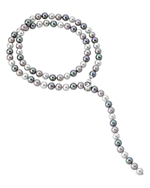 Majorica Baroque Chain Simulated Pearl Necklace, 35