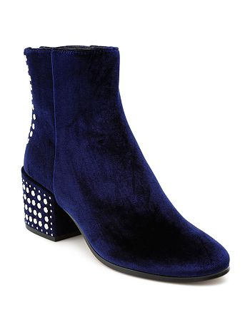 Dolce Vita - Women's Mazey Studded Velvet Booties