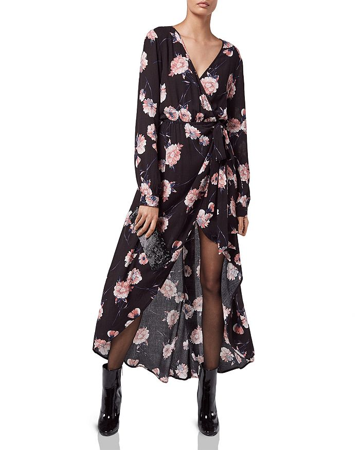 Cotton Candy LA - Floral Wrap Dress, KENDALL + KYLIE Patent Leather Booties & More