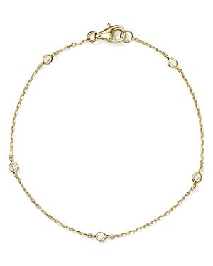 Sterling Silver Thin Chain Bracelet