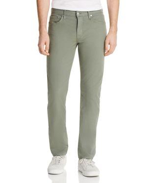 S.M.N STUDIO Hunter Standard Slim Fit Pants In Thyme - 100% Exclusive in Medium Green