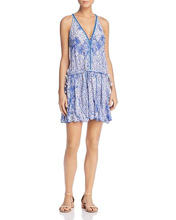 Poupette St. Barth - Nola Printed Mini Dress