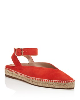 Stuart Weitzman - Women's Toga Espadrille Ankle Strap Flats