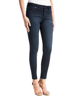 Liverpool Abby Skinny Legging Jeans in Dark Blue