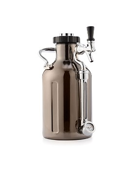 GrowlerWerks - 64 oz. Black Chrome uKeg