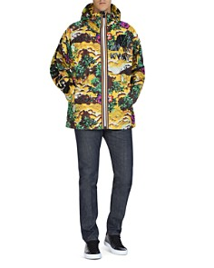 DSquared2 x K-Way Tropical Hooded Jacket - Bloomingdale's_0