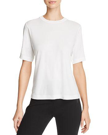 Eileen Fisher - Short-Sleeve Silk Tee