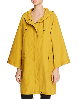 EILEEN FISHER HOODED ANORAK