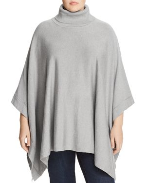 Foxcroft Plus Rina Turtleneck Poncho