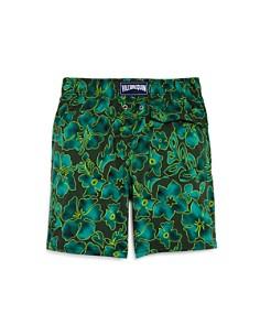 Vilebrequin - Boys' Jarise Floral Swim Trunks - Big Kid
