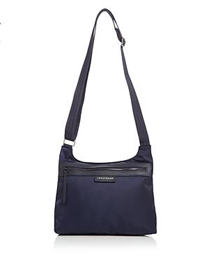 Longchamp Le Pliage Neo Nylon Crossbody Bag Blue In
