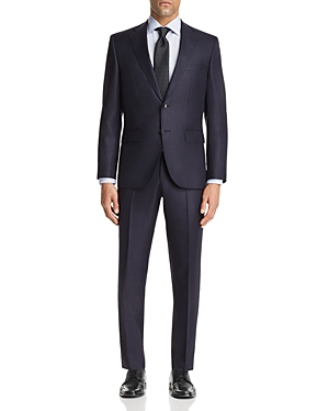 Boss Johnstons/Lenon Regular Fit Tonal Stripe Suit