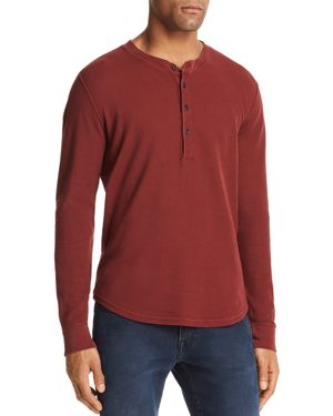 7 For All Mankind Long Sleeve Henley - 100% Exclusive