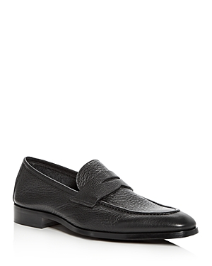 To Boot New York Men\\\'s Johnson Leather Apron-Toe Penny Loafers