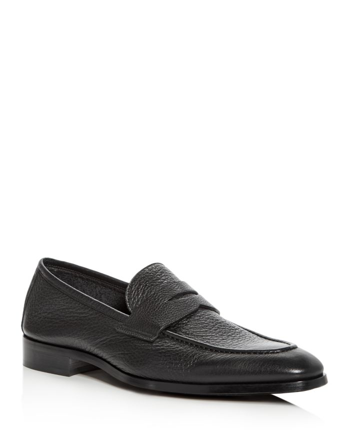 To Boot New York Men's Johnson Leather Apron-Toe Penny Loafers    Bloomingdale's