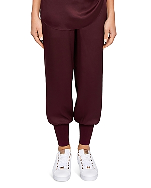 Ted Baker Ted Says Relax Aibrey Satin Jogger Pants