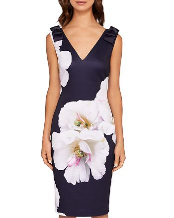 Ted Baker - Soleia Gardenia Bow-Detail Dress