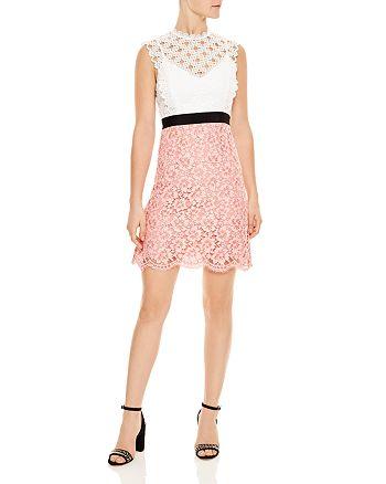 Sandro - Gab Floral-Lace Pattern Dress