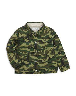 Sovereign Code Boys' Camo-Print Jacket - Big Kid