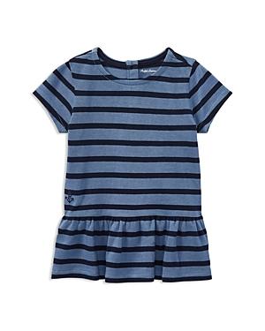 Ralph Lauren Childrenswear Girls Ruffled Striped Top  Baby