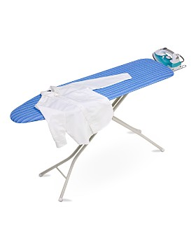 Honey Can Do - 4-Leg Ironing Board with Retractable Iron Rest