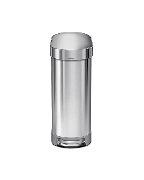 simplehuman - 45L Slim Step Can with Liner Rim