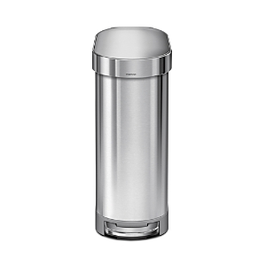 simplehuman 45L Slim Step Can with Liner Rim