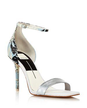 Dolce Vita Women's Halo Satin High-Heel Ankle Strap Sandals 2754503
