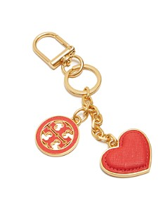 Tory Burch Logo & Heart Key Fob - Bloomingdale's_0