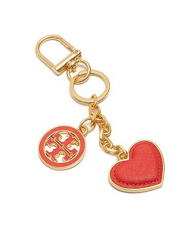 Tory Burch - Logo & Heart Key Fob