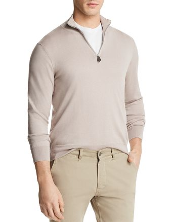 The Men's Store at Bloomingdale's - Quarter-Zip Sweater - 100% Exclusive
