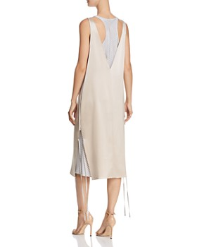 T by Alexander Wang - Layered Satin Slip Dress