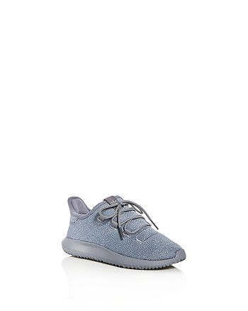 Adidas - Unisex Tubular Shadow Glitter Knit Lace Up Sneakers - Toddler, Little Kid