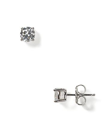 Crislu - Stud Earrings, 4mm