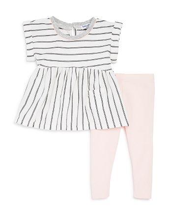 Splendid - Girls' Striped Top & Leggings Set - Baby