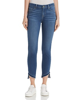 PAIGE - Verdugo Crop Released Hem Jeans in Henderson