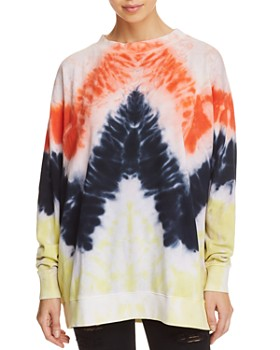 WILDFOX - Oversized Tie-Dye Sweatshirt