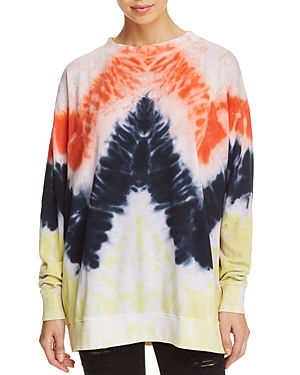 Wildfox Oversized Tie-Dye Sweatshirt