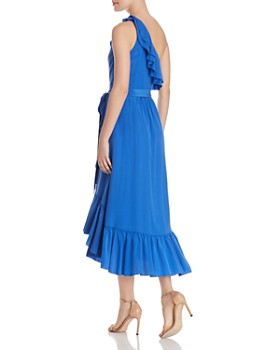 Joie - Damica One-Shoulder Silk Dress