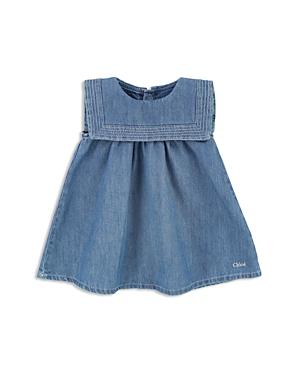 Chloe Girls Sailor Collar Denim Dress  Baby
