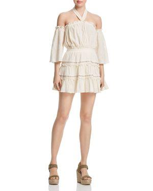 Misa Los Angeles Kerry Cold-Shoulder Dress