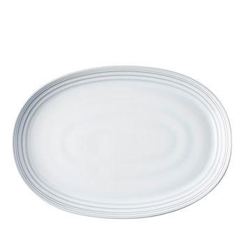"Juliska - Bilbao White Truffle 17"" Platter"