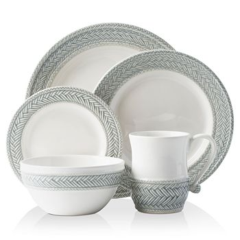 Juliska - Le Panier Grey Mist 5-Piece Setting