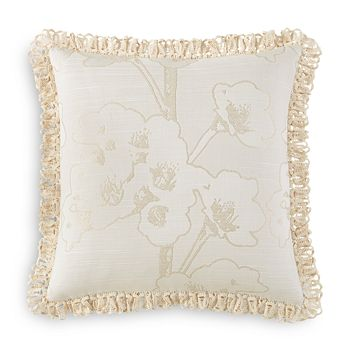 "Waterford - Sydney Floral Decorative Pillow, 18"" x 18"""