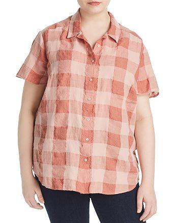 Lucky Brand Plus - Plaid Button Down Shirt
