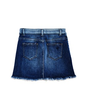 DL1961 - Girls' Jenny Contrast-Wash Denim Skirt - Big Kid