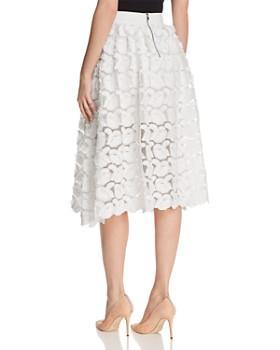 Maje - Jardin Rosette Appliqué Skirt - 100% Exclusive