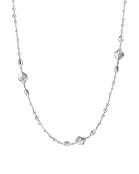 "JOHN HARDY - Sterling Silver Legends Naga Station Necklace, 36"""